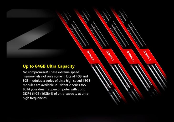spec5 - Gskill TridentZ DDR4-3400 16GB Kit