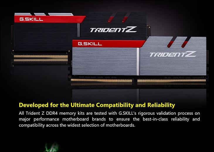 spec6 - Gskill TridentZ DDR4-3400 16GB Kit