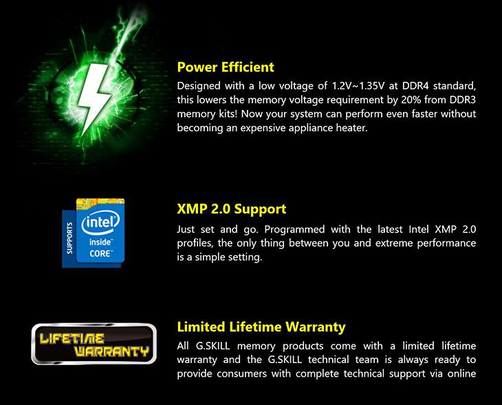 spec7 - Gskill TridentZ DDR4-3400 16GB Kit
