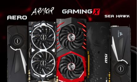 MSI unveils new GeForce® GTX 1080 graphics cards