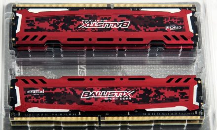 Crucial Ballistix Sport LT Red 32GB Kit