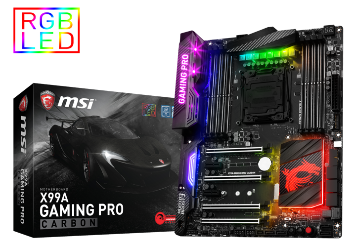 news10 - X99A GAMING PRO CARBON with front USB 3.1 Type-C and U.2 is here!