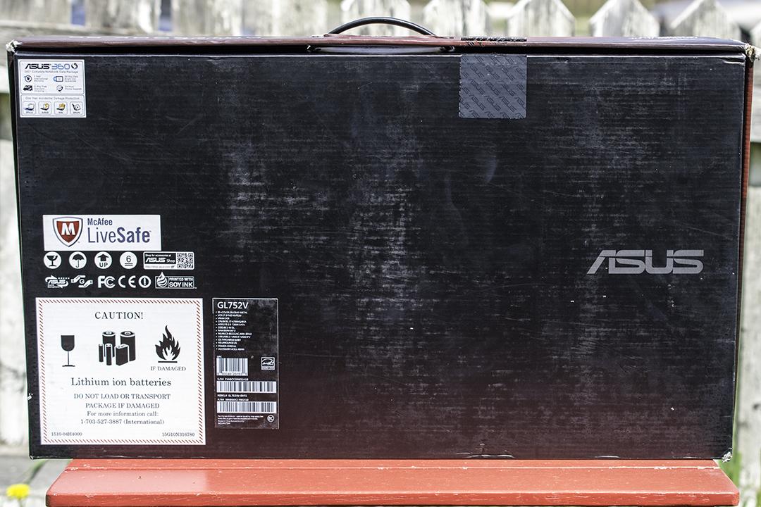 Unb2 - Asus ROG GL752V