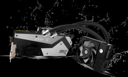 MSI and EK Partner for the MSI 30th Anniversary GTX 1080 GPU
