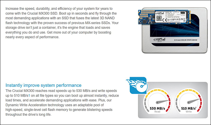 spec1 1 - Crucial MX300 2050GB Raid