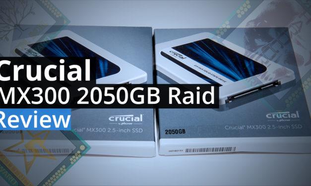 Crucial MX300 2050GB Raid