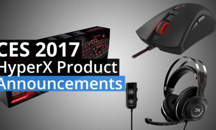 HyperX CES 2017 Revolver S, Alloy FPS, Pulsefire FPS Mouse