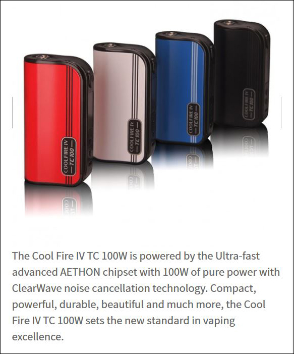 spec4 2 - Innokin CoolFire IV TC 100 In-depth Review