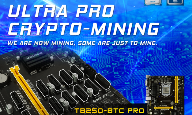 TB250-BTC PRO: The 12-GPU Ready Crypto Mining Motherboard
