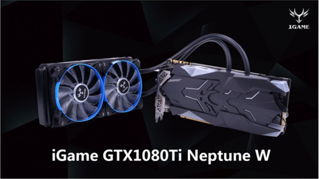 COLORFUL Reimagines its Liquid-Cooled Graphics Card: Enter iGame GTX1080Ti Neptune W