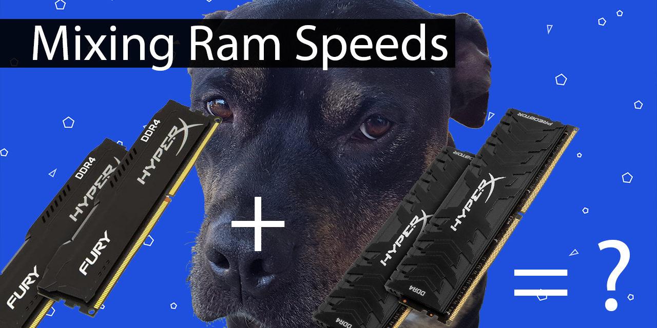 The Impact of Mixing RAM Speeds