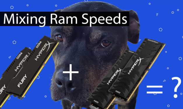 The Impact of Mixing RAM Speeds