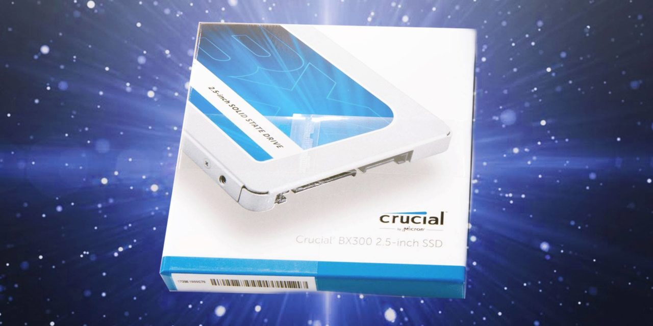 Crucial BX300: Not your typical budget SSD