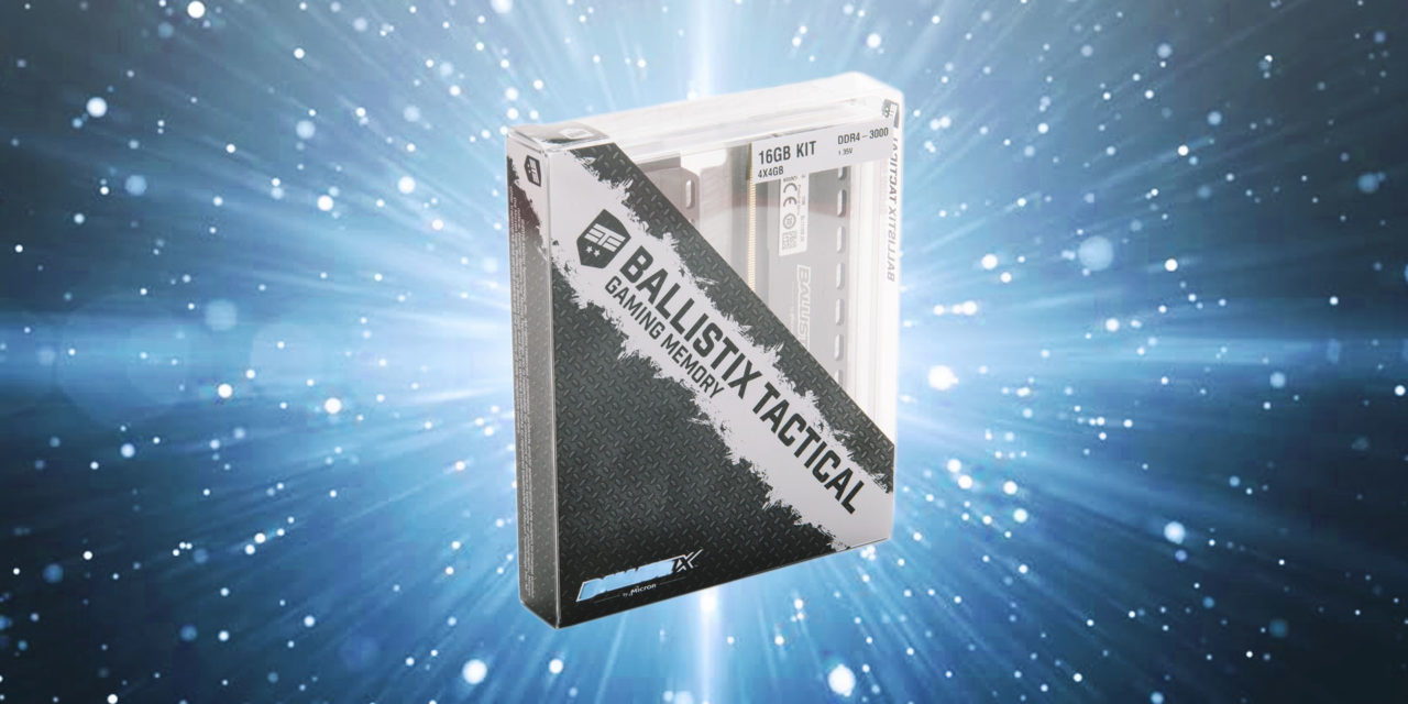 Ballistix Tactical 16GB Kit
