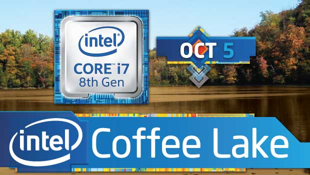 Intel's New 8th Gen Coffee Lake CPUs