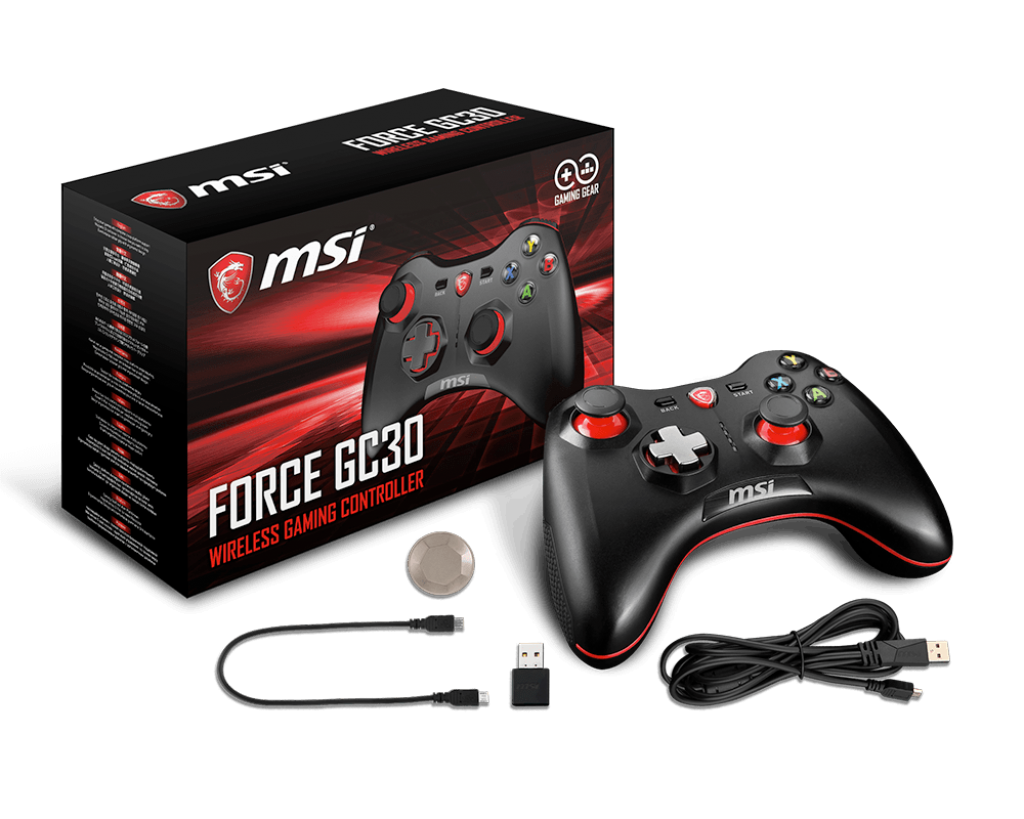 force GC30 1024x819 - MSI Force GC30 and GC20 New Wireless and Wired Game Controllers