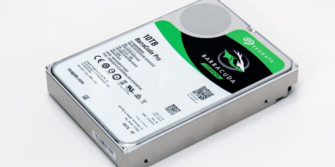 Seagate 10TB BarraCuda Pro: Redefining the term High Performance Hard Drive Review