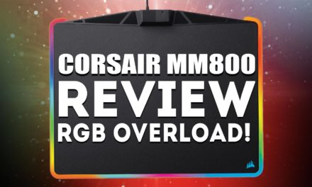 Corsair MM800C Mousepad Review – RGB Overload?