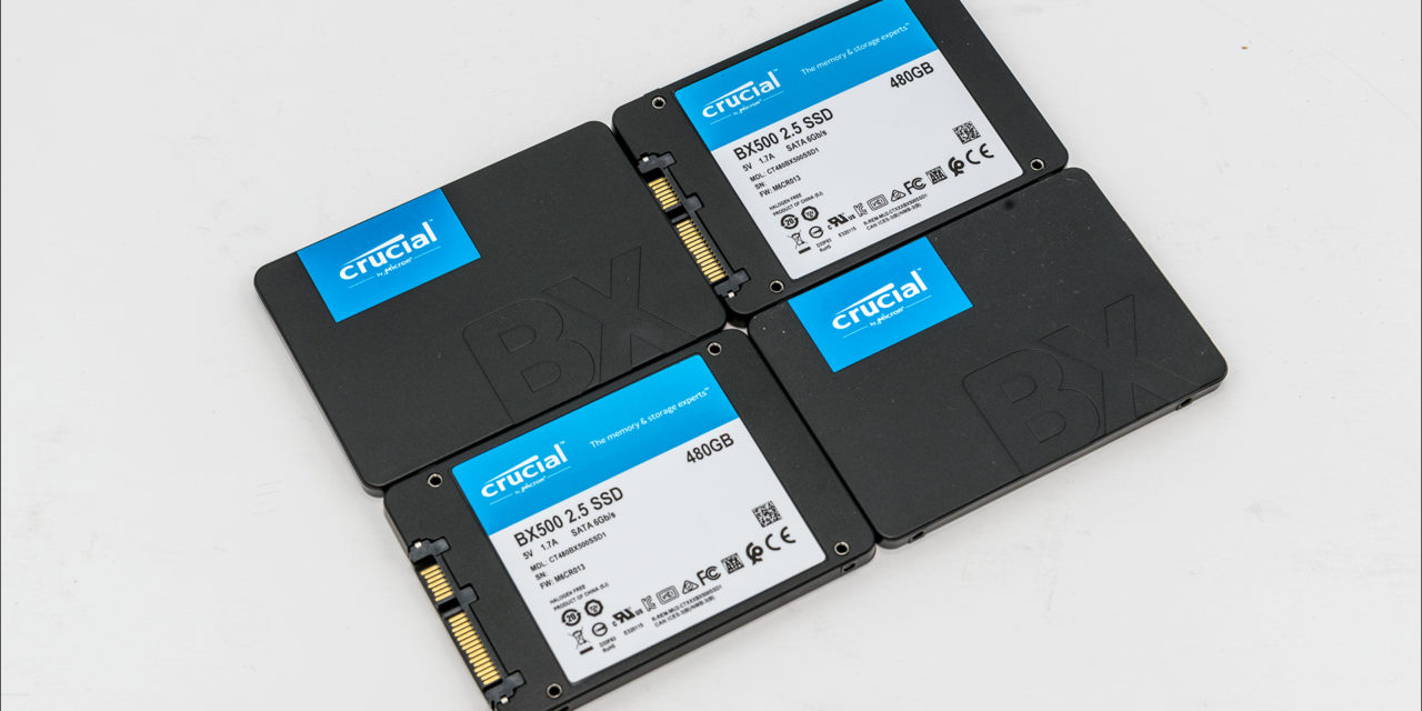 Crucial BX500 480GB Good RAID performance on the cheap