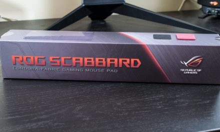 ASUS ROG Scabbard Review
