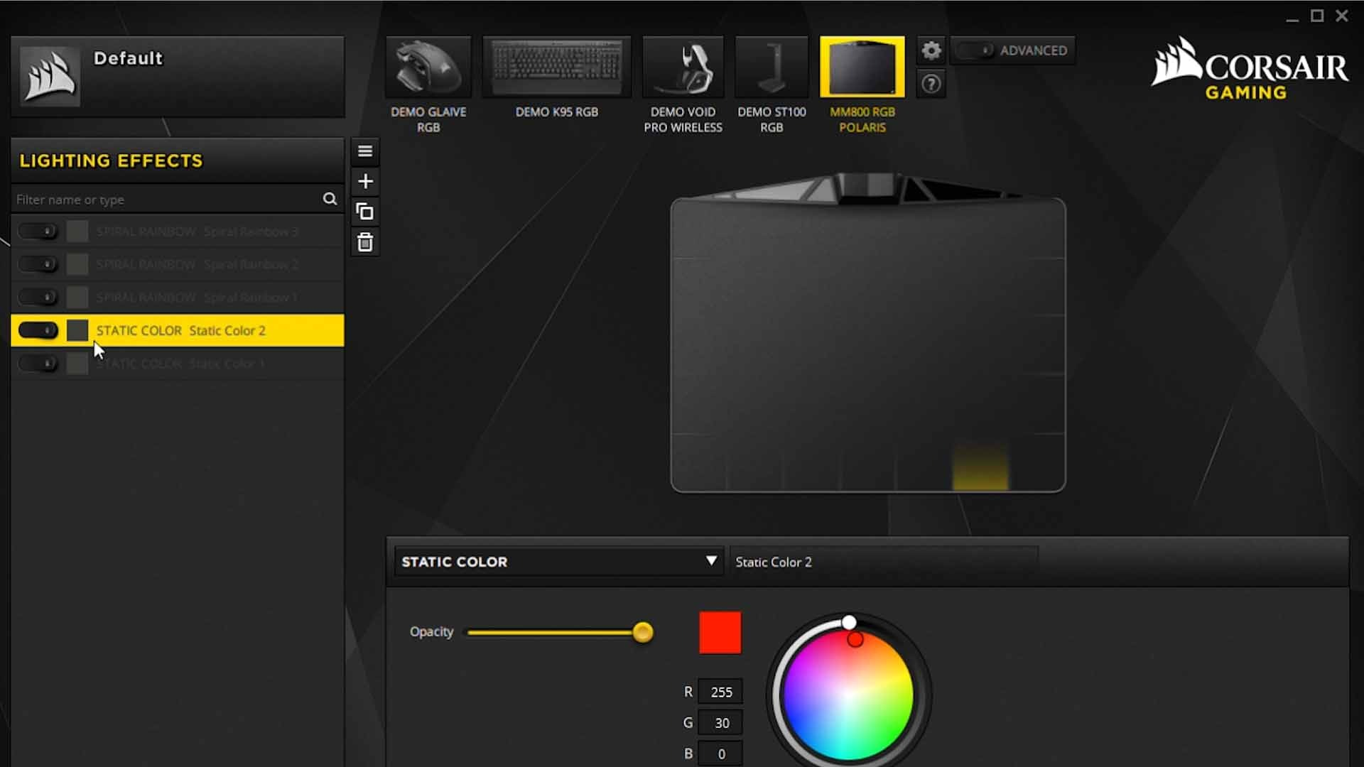 Software Corsair 800C unsmushed - Corsair MM800C Mousepad Review - RGB Overload?