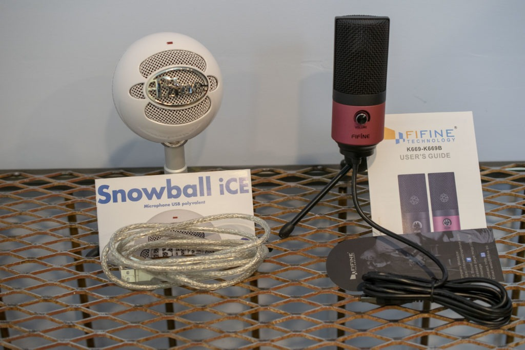 DSC 0017genius 1024x683 - FiFine K669 vs Blue Snowball iCE Review