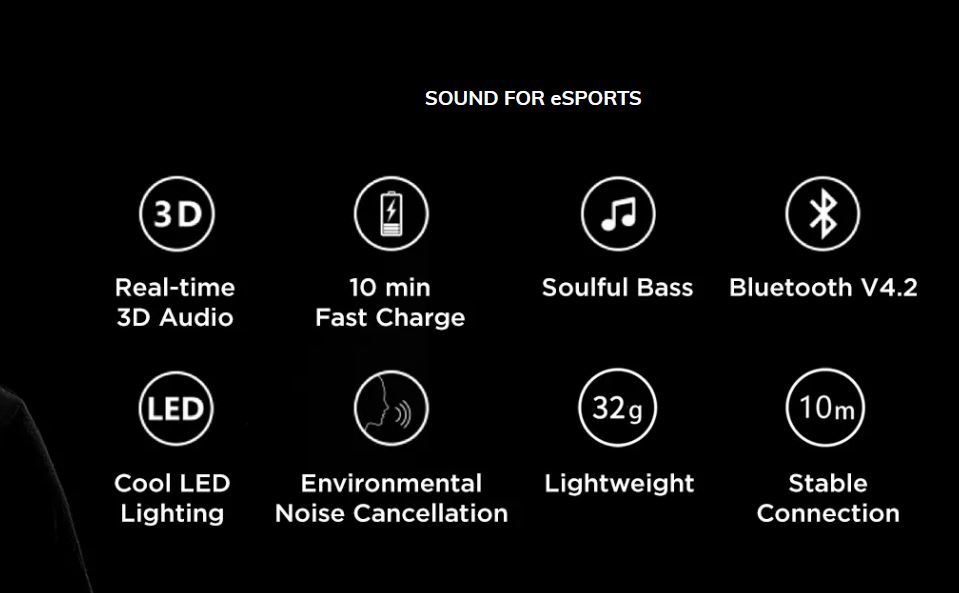 key features - 1More Spearhead VR BT In-Ear Review
