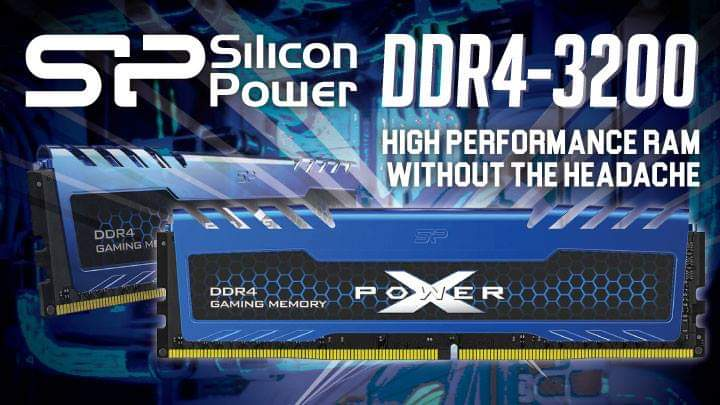 Silicon Power XPower Turbine DDR4-3200: High Performance ram without the headache