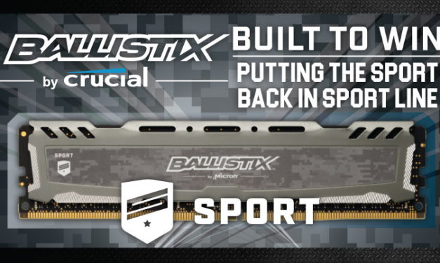 Ballistix Sport LT DDR4-3200 Review