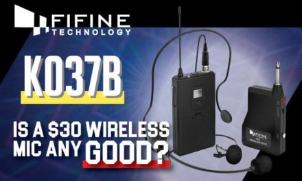 Fifine Wireless Microphone System K037B Review