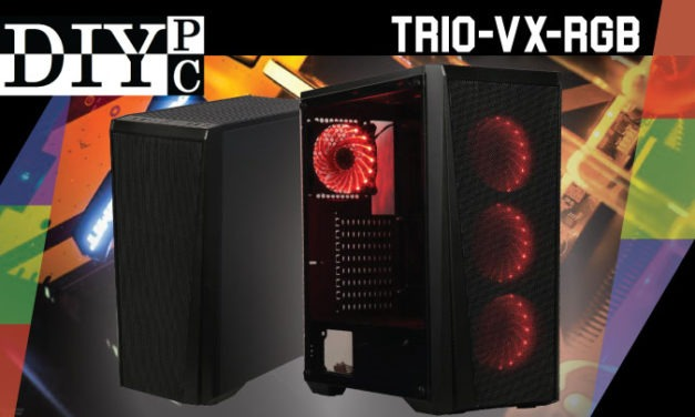 DIYPC NEW Chassis the Trio-VX-RGB
