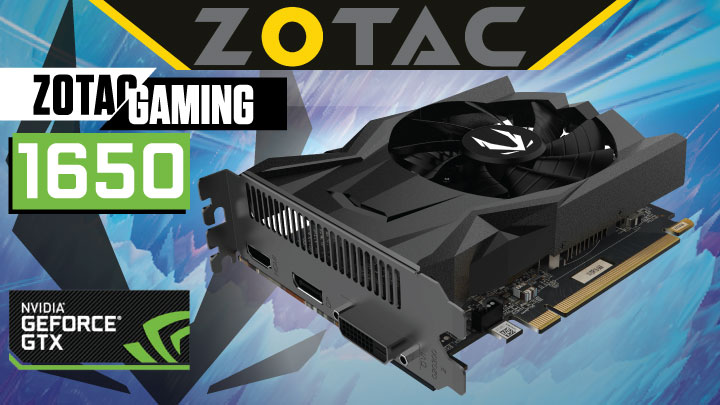 Zotac GAMING GeForce GTX 1650 OC Review