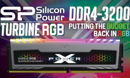 Silicon Power XPower Turbine RGB DDR4-3200 Review