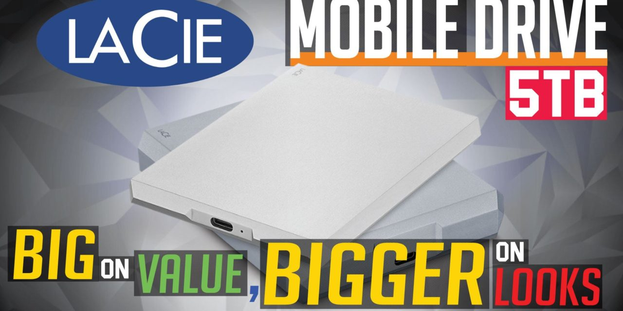 LaCie Mobile Drive 5TB Review