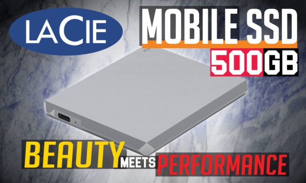 LaCie Mobile SSD 500GB Review
