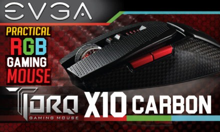 EVGA TORQ X10 Carbon Review