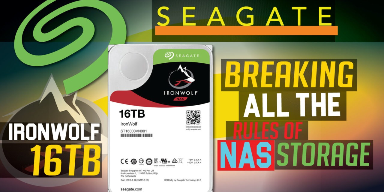 Seagate IronWolf 16TB Review