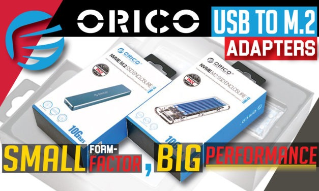 Orico USB to M2 adapters Review