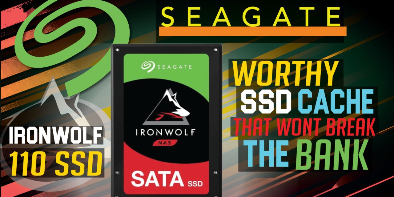 Seagate IronWolf 110 SSD Review