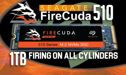 Seagate FireCuda 510 1TB SSD Review