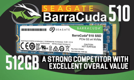 Seagate BarraCuda 510 512GB SSD Review