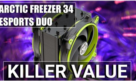 Arctic Freezer 34 eSports DUO Review