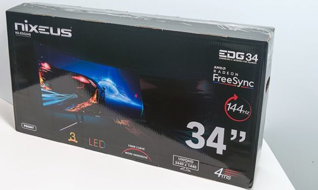 Nixeus NX-EDG34S Review