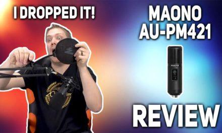 Maono AU-PM421 Microphone Kit – A Must Hear!