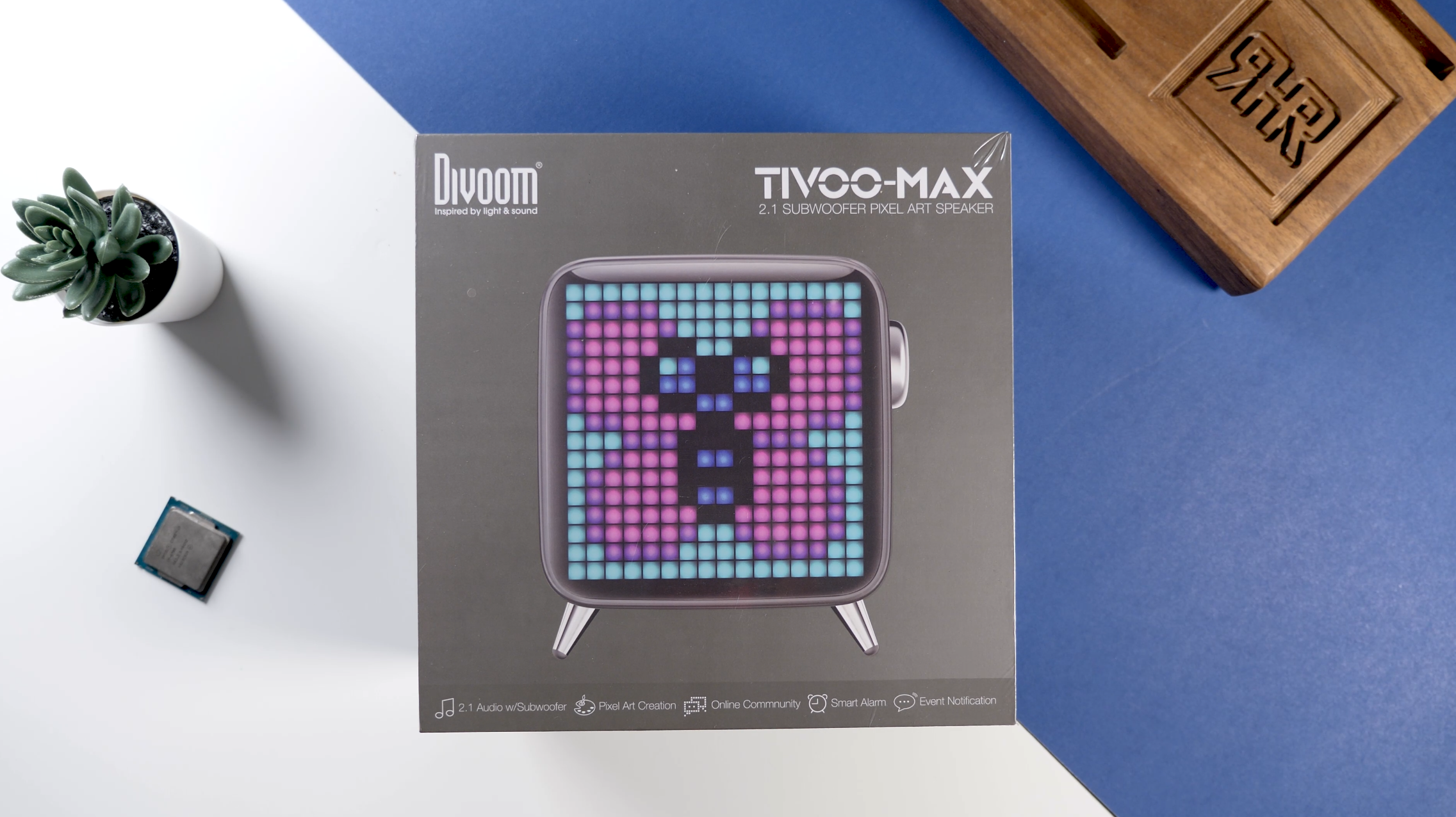 Divoom Tivoo Max Unboxing - Divoom Tivoo Max Review