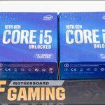 Intel Core i7-10700K and Core I5-10600K Review