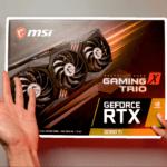 MSI RTX 3060Ti Gaming X Trio Unboxing