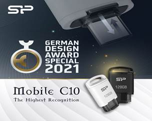 The Mobile C10 Wins 2021 German Design Award