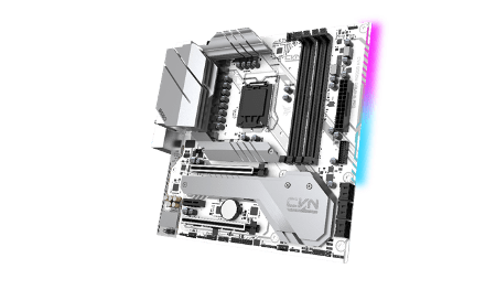 iGame Z590 Vulcan W and CVN B560M GAMING FROZEN Motherboards
