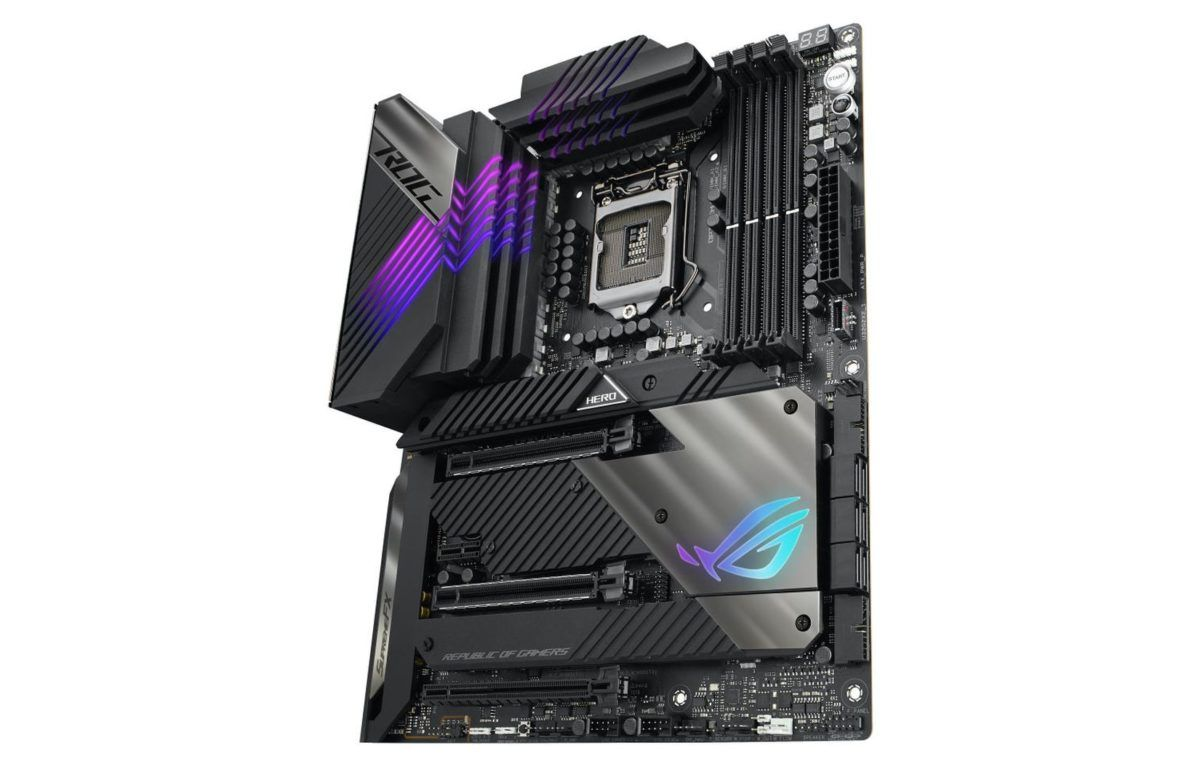 The ROG Maximus XIII Hero videocardz 1200x764 1 - ASUS unveils Z590 ROG Maximus XII, ROG STRIX, TUF Gaming and PRIME Motherboards